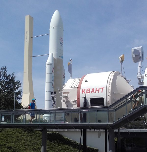 La reproducción de la MIR es visitable en la Cité de l'Espace (Francia, 2016)