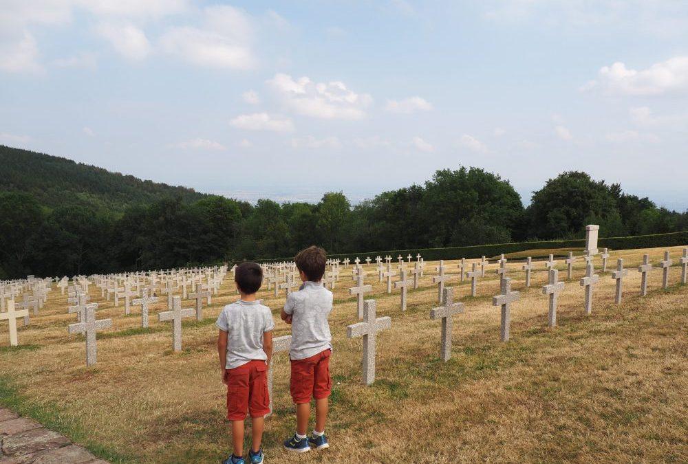 100 AÑOS DEL ARMISTICIO:  MEMORIAL HARTMANNSWILLERKOPF EN ALSACIA