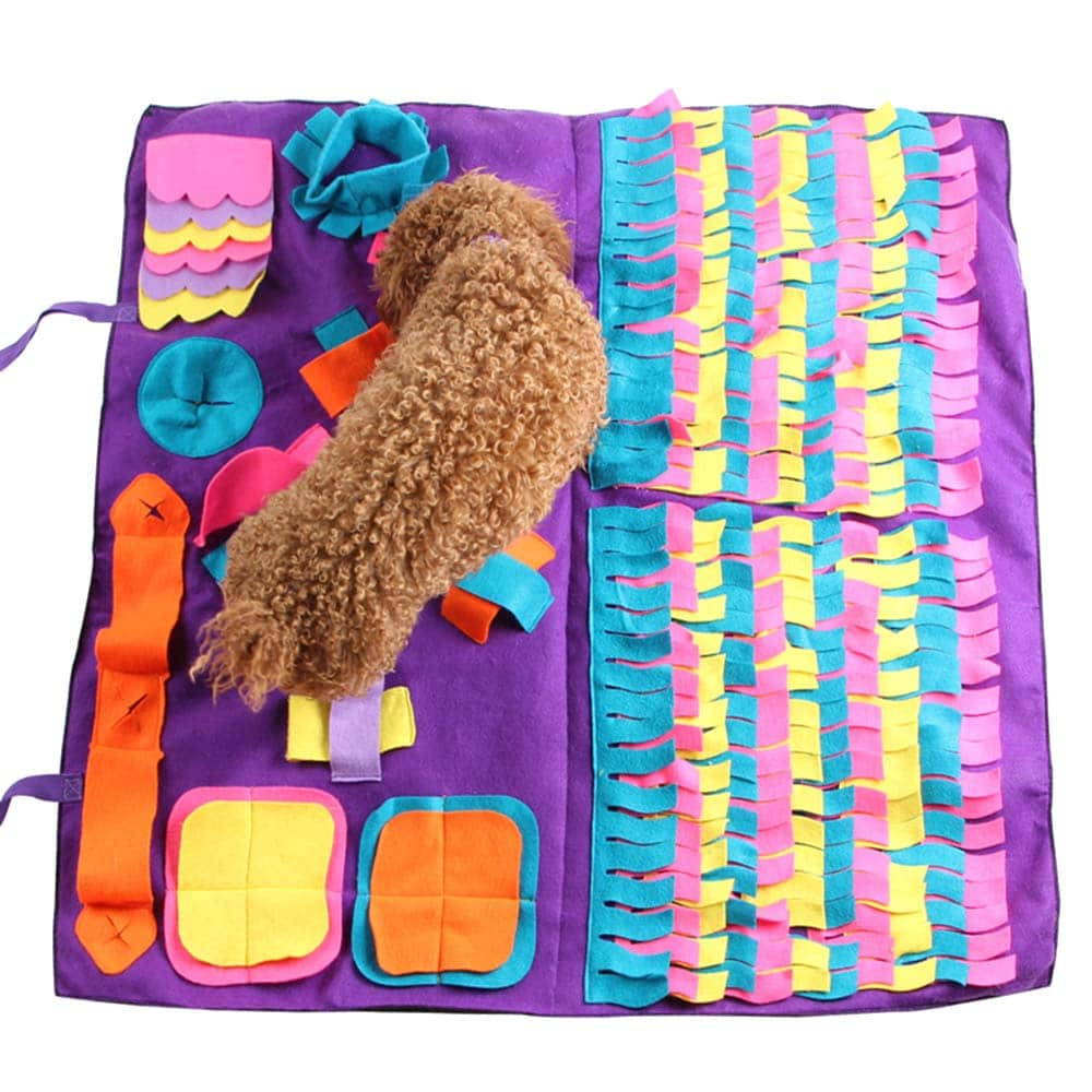 tapis de fouille pour chien snuffelmat snufflemat