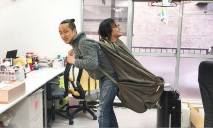 Empresa japonesa cria mochila gigante que consegue comportar até mesmo um adulto