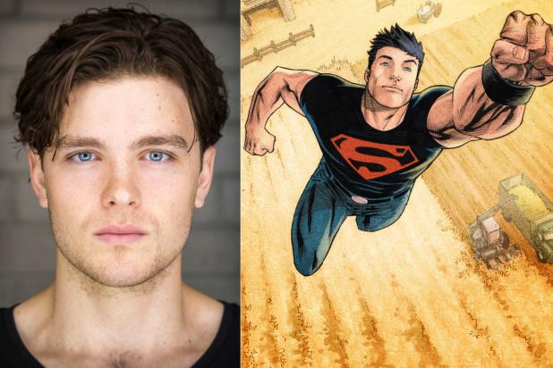 Titãs   Joshua Orpin é escalado como Superboy na série
