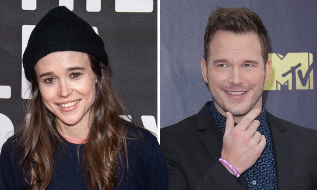 Ellen Page provoca Chris Pratt por causa da igreja que o ator frequenta