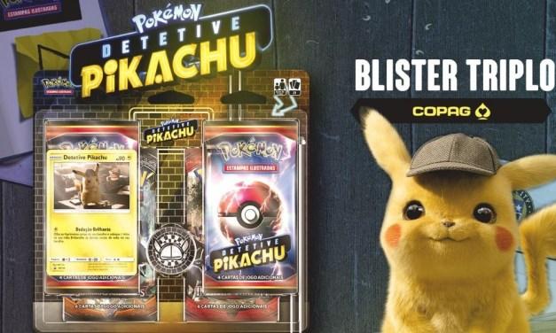 Agora é oficial: Copag anuncia produto de cartas de pokemon de Detective Pikachu