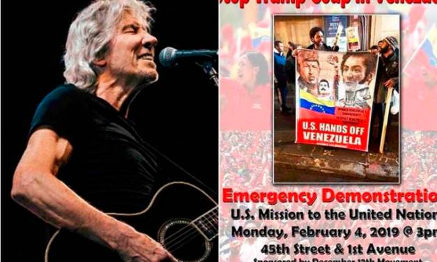 Roger Waters polemiza após defender Nicolás Maduro