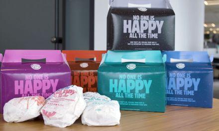Burger King lança novo lanche baseados nos diferentes estados de espírito
