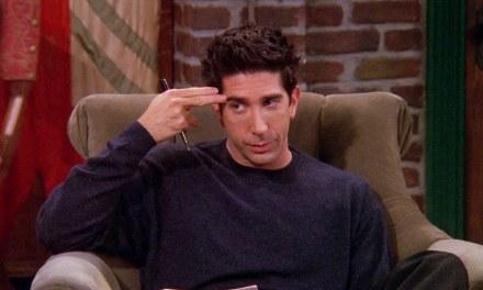 Ross de Friends já apareceu em outra série