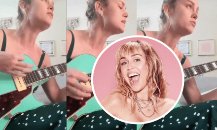 "Brie Larson faz cover de ""Slide Away"", novo single da Miley Cyrus"