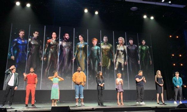 Os Eternos   Marvel revela elenco completo do longa; Primeira arte oficial é divulgada