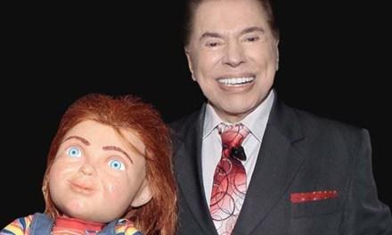 Silvio Santos prepara pegadinha com boneco Chucky
