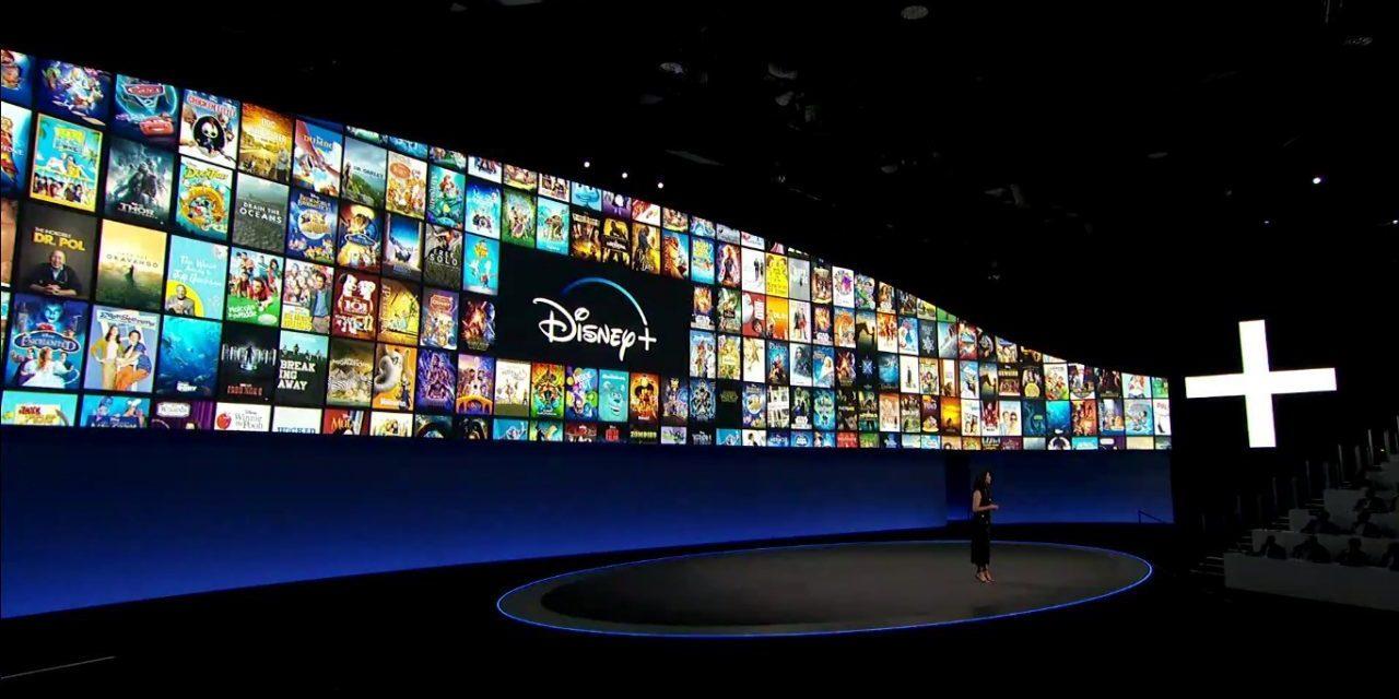 Disney divulga vídeo de 3 horas com todo o conteúdo do Disney+