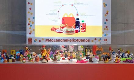 McLanche Feliz recebe exposição de brinquedos em comemoração de seus 40 anos