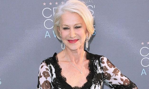 Helen Mirren se diz lisonjeada por a confundirem com a namorada de Keanu Reeves