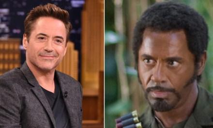 Robert Downey Jr. diz não ter feito blackface em Trovão Tropical