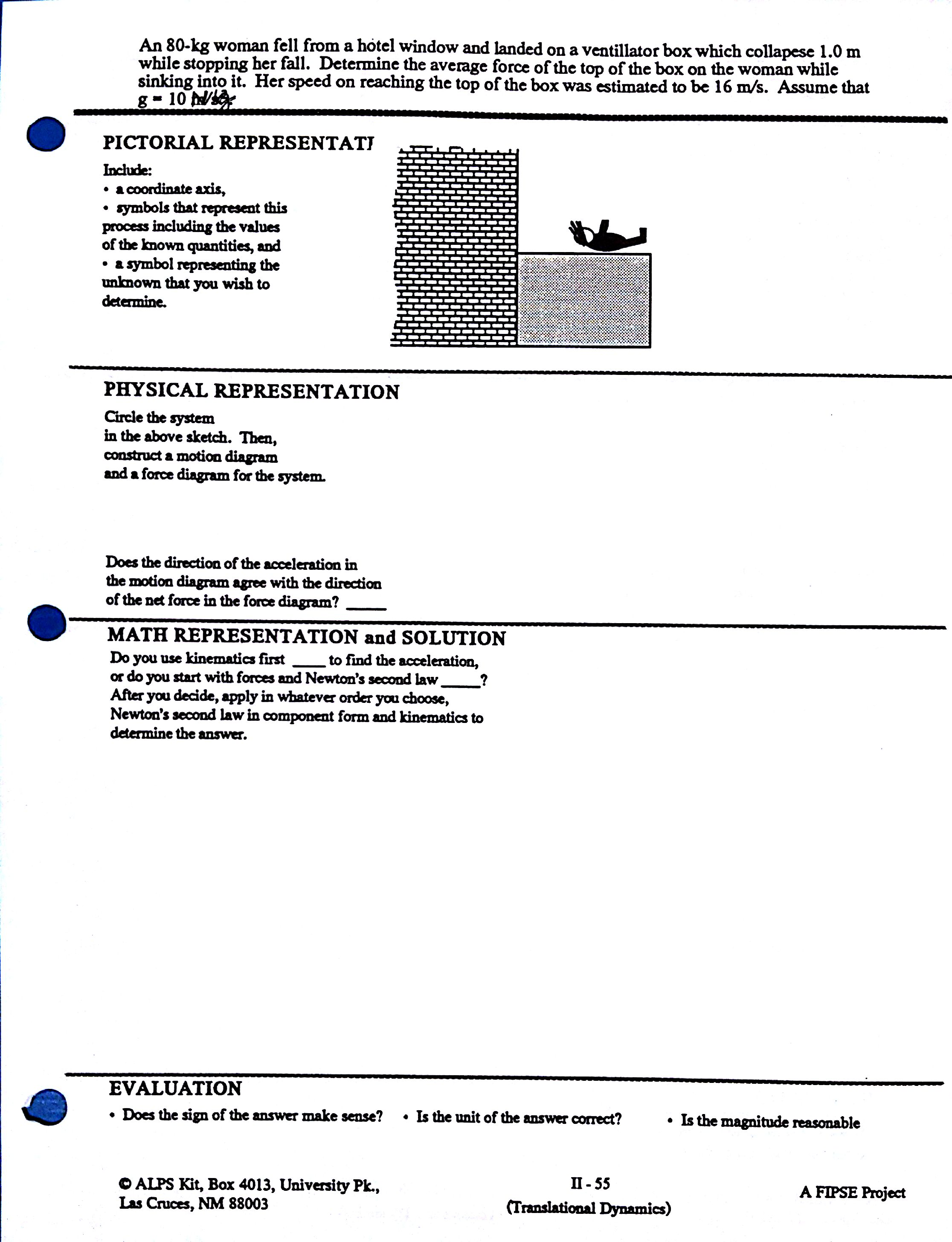 Problem Solving Template Templates And Worksheets From