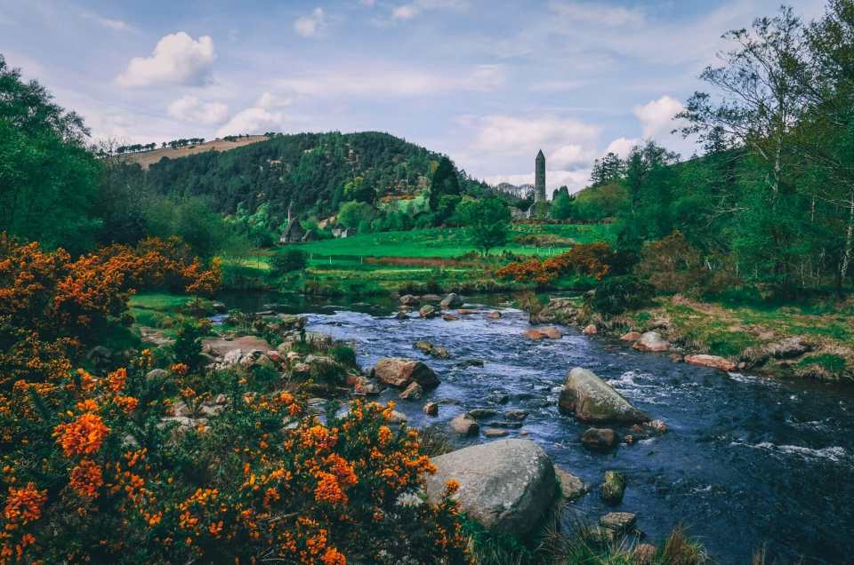 Glendalough, un joyau dans les montagnes de Wicklow