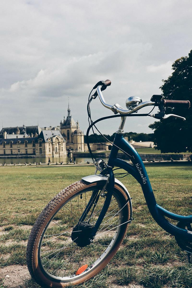 vélo chateau chantilly