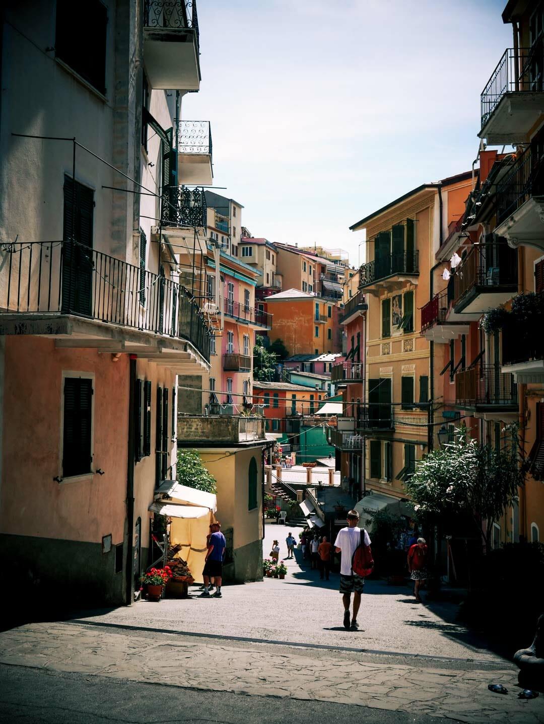 ruelle Riomaggiore italie