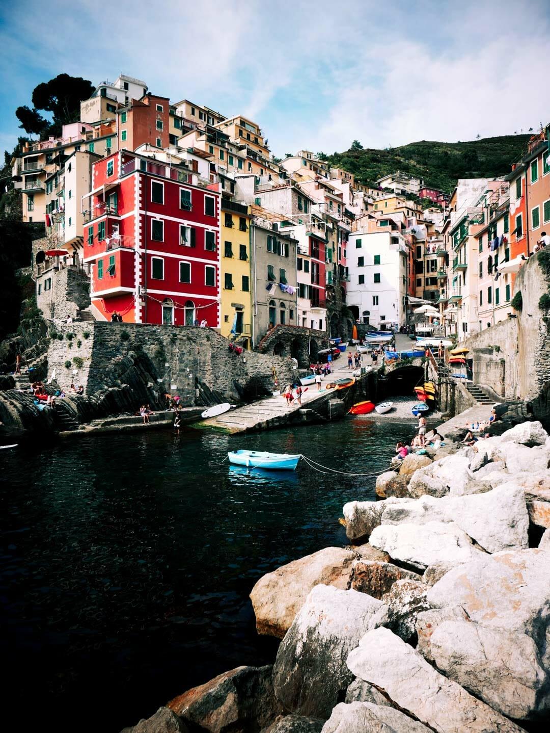 port Riomaggiore italie