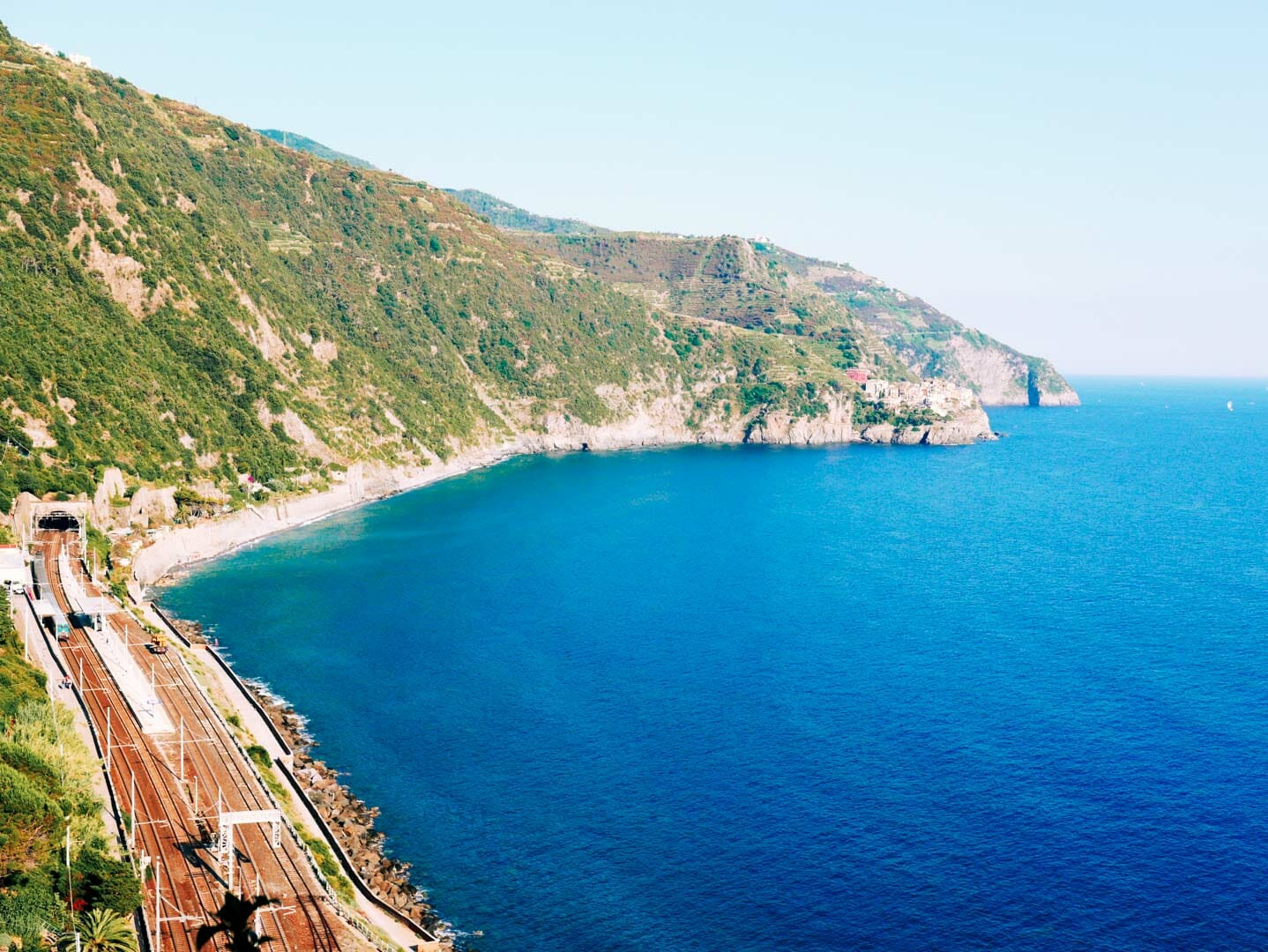 train Corniglia