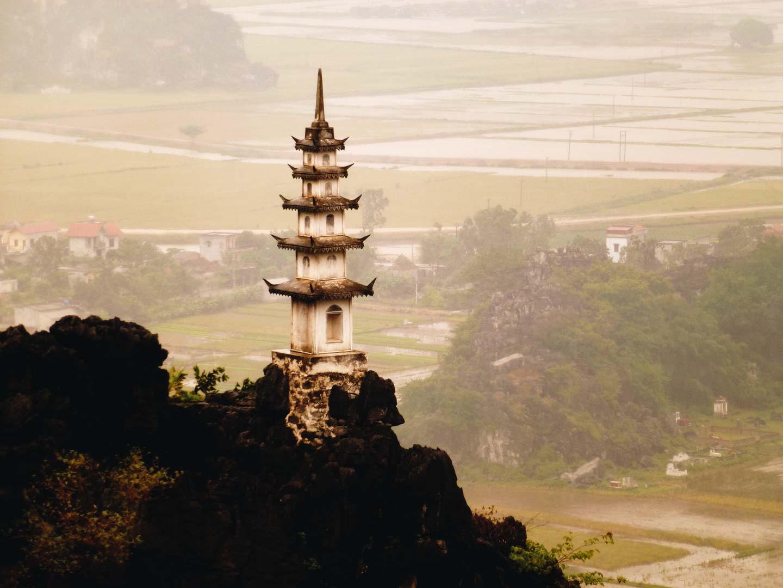 vue du haut Hang Mua