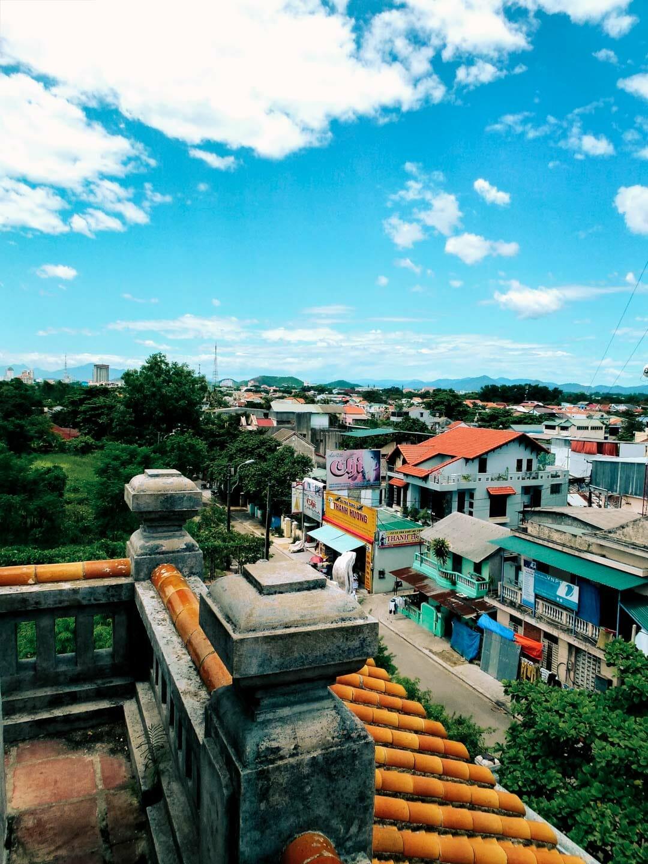 vue des toits hué