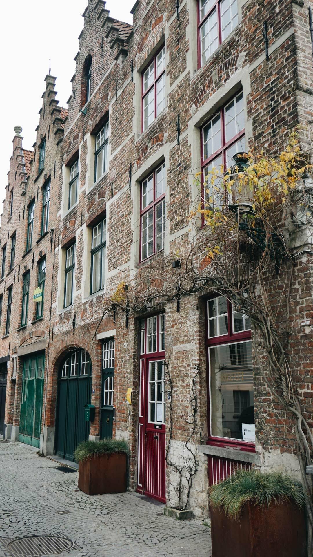 facades maison bruges