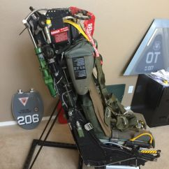 Ejection Seat Office Chair Folding Rocker Nose Art Displays Hand Made