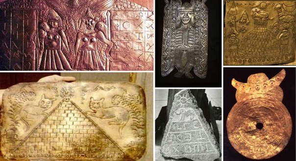 Экспонаты коллекции Падре Креспи