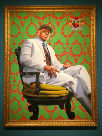 LL Cool J, Kehinde Wiley, 2005. National Portrait Gallery, Washington DC.