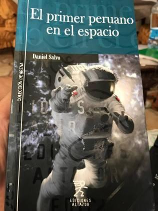 El primer peruano en el espacio portada