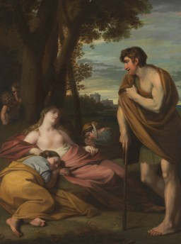 Benjamin West - Cymon and Iphigenia 1766
