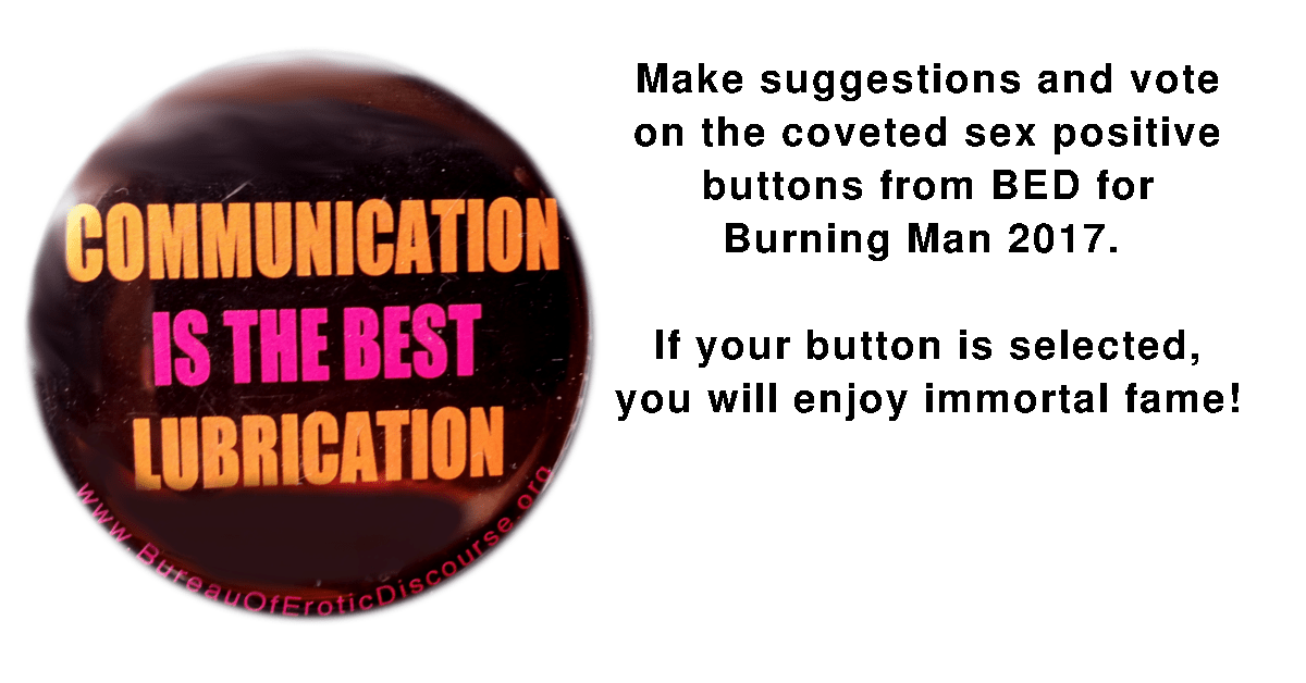 Button Suggestions - Voting for 2017 BRC Burn