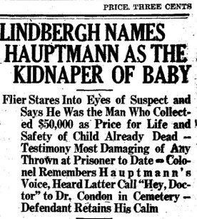 Plattsburgh Daily Republican, January 5, 1935, page 1, accessed from NYS Historic Newspapers