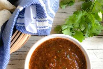 smokey chipotle tomatillo salsa