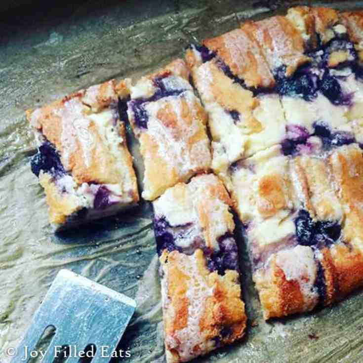 Braided Blueberry Cheese Danish - Low Carb, Keto, THM S