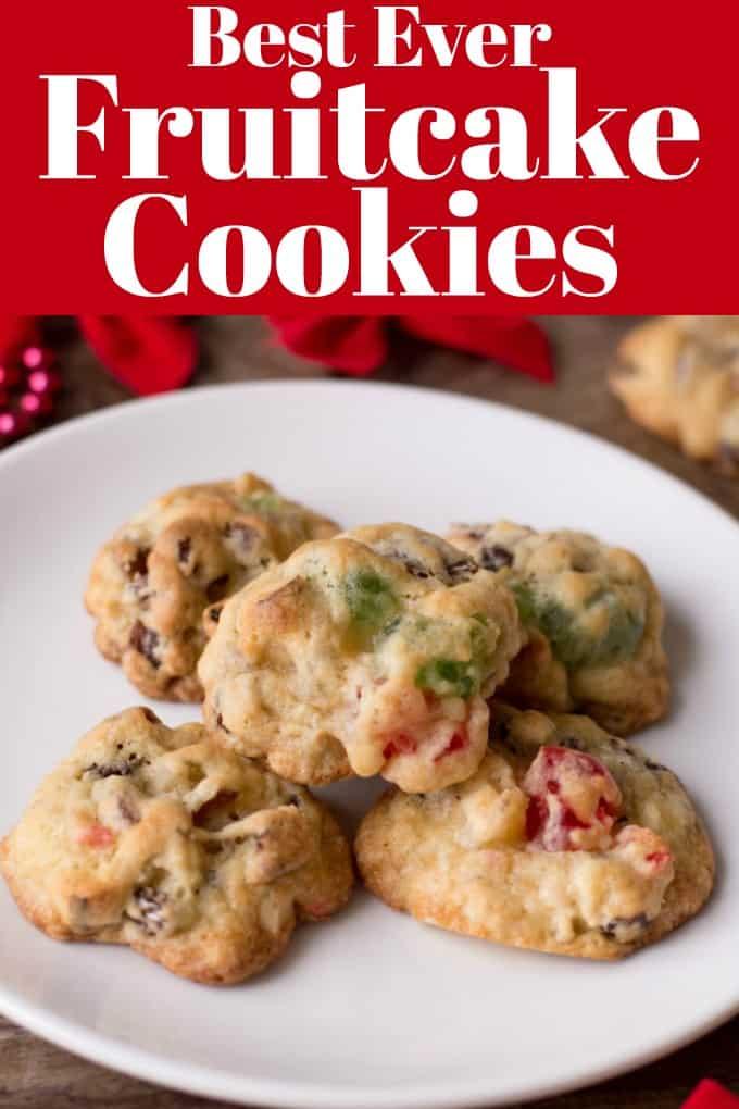 Best Ever Fruitcake Cookie Recipe : fruitcake, cookie, recipe, Fruitcake, Cookies, Favorite, Holidays.