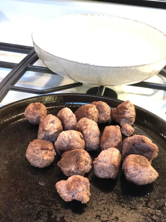 Mock Meat for Vegan Meatballs and Burgers