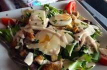 Caesar Salad, at Banana Blue in Cannes