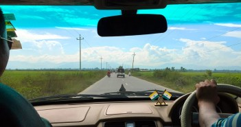 On Asian Highway #1 to Moreh