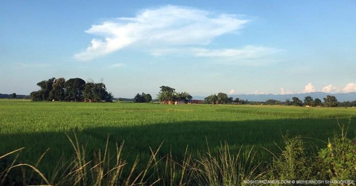 En route to Noune Resort near Dimapur