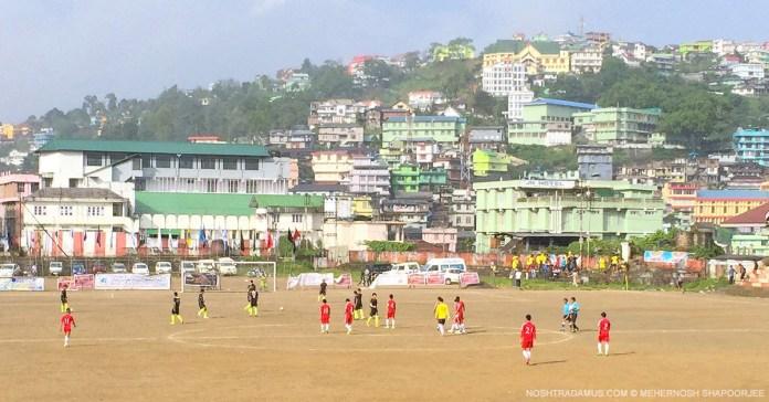 Football in Kohima