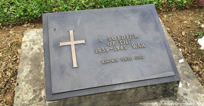 Kohima War Cemetary – Tomb of the Unknown Soldier