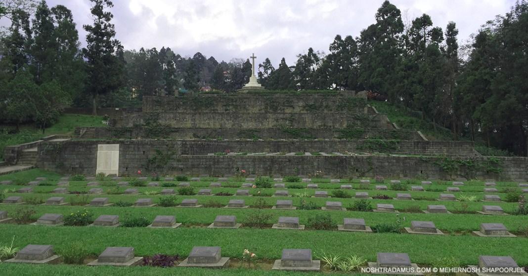 Kohima War Cemetary - Remembering the Battle of Kohima in World War II