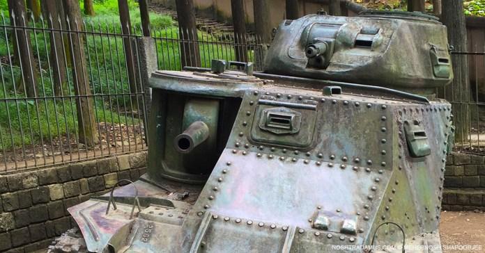 World War II M3 Grant Tank on Officers Hill Kohima 01