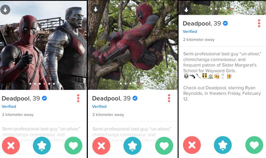 Deadpool Tinder 2