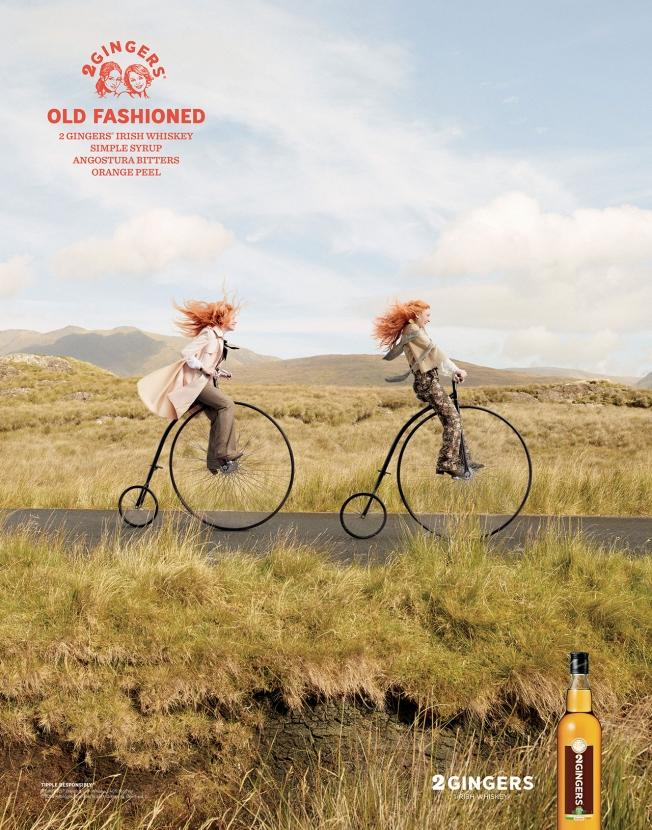 2 Gingers Irish Whiskey - Old Fashioned