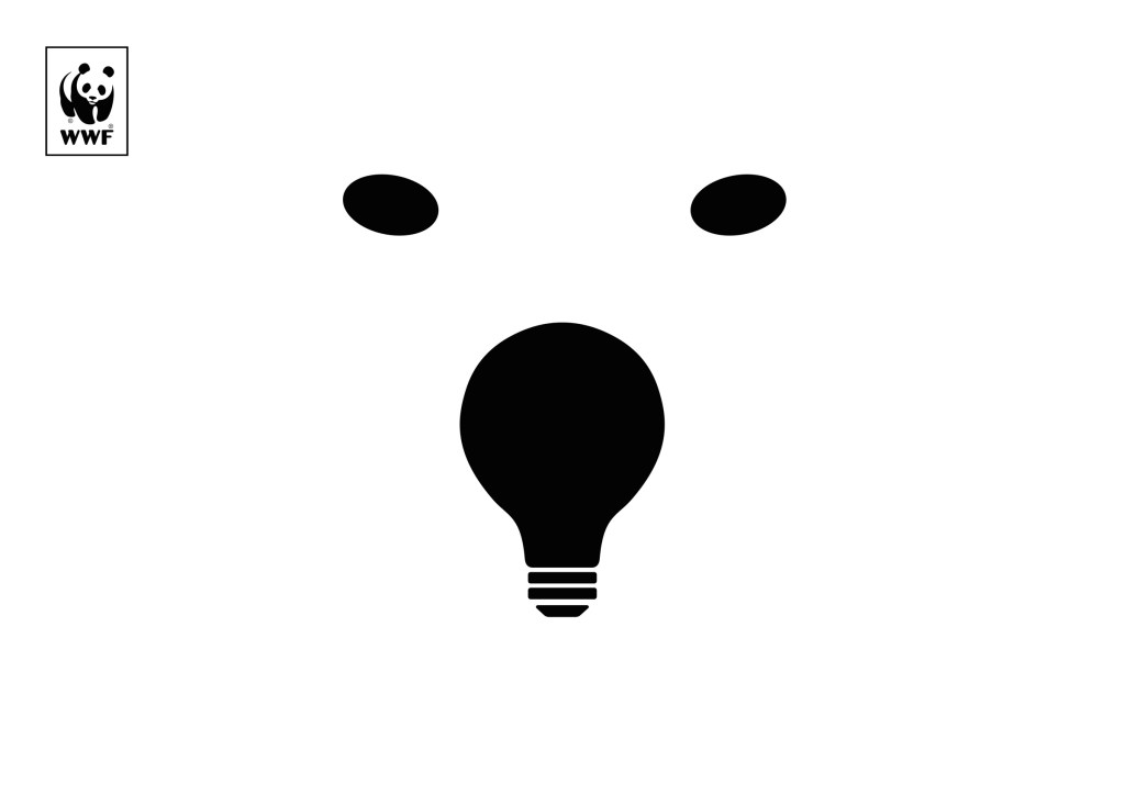 Earth Hour WWF - Lights out for the polar bear