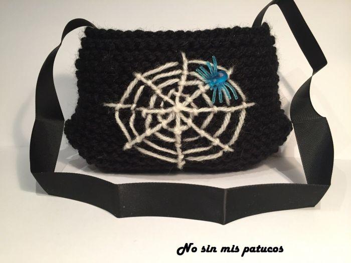 Bolsa de tela de araña.