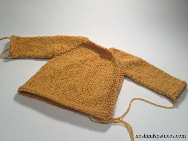 chaqueta recién nacido