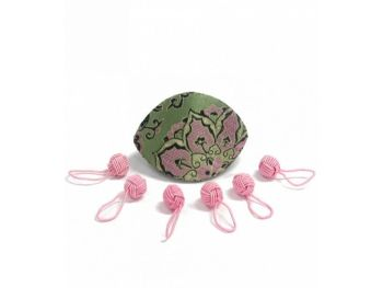 Dumpling case and yarn ball stitch markers